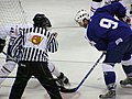 Latvia VS Slovenia at the IIHF World Hockey Championship 2008 - Tomaž Razingar (2).jpg