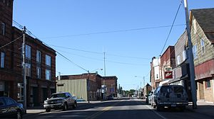 Laurium, Michigan - Downtown Laurium