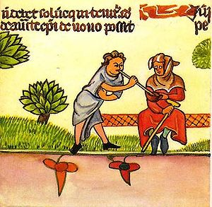 Lazarillo y el Ciego Decretales siglo XIV