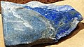 Lazuritic limestone (North Italian Mountain, Gunnison County, Colorado, USA) 1 (49167096041).jpg