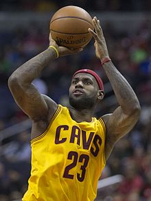 LeBron James in November 2014