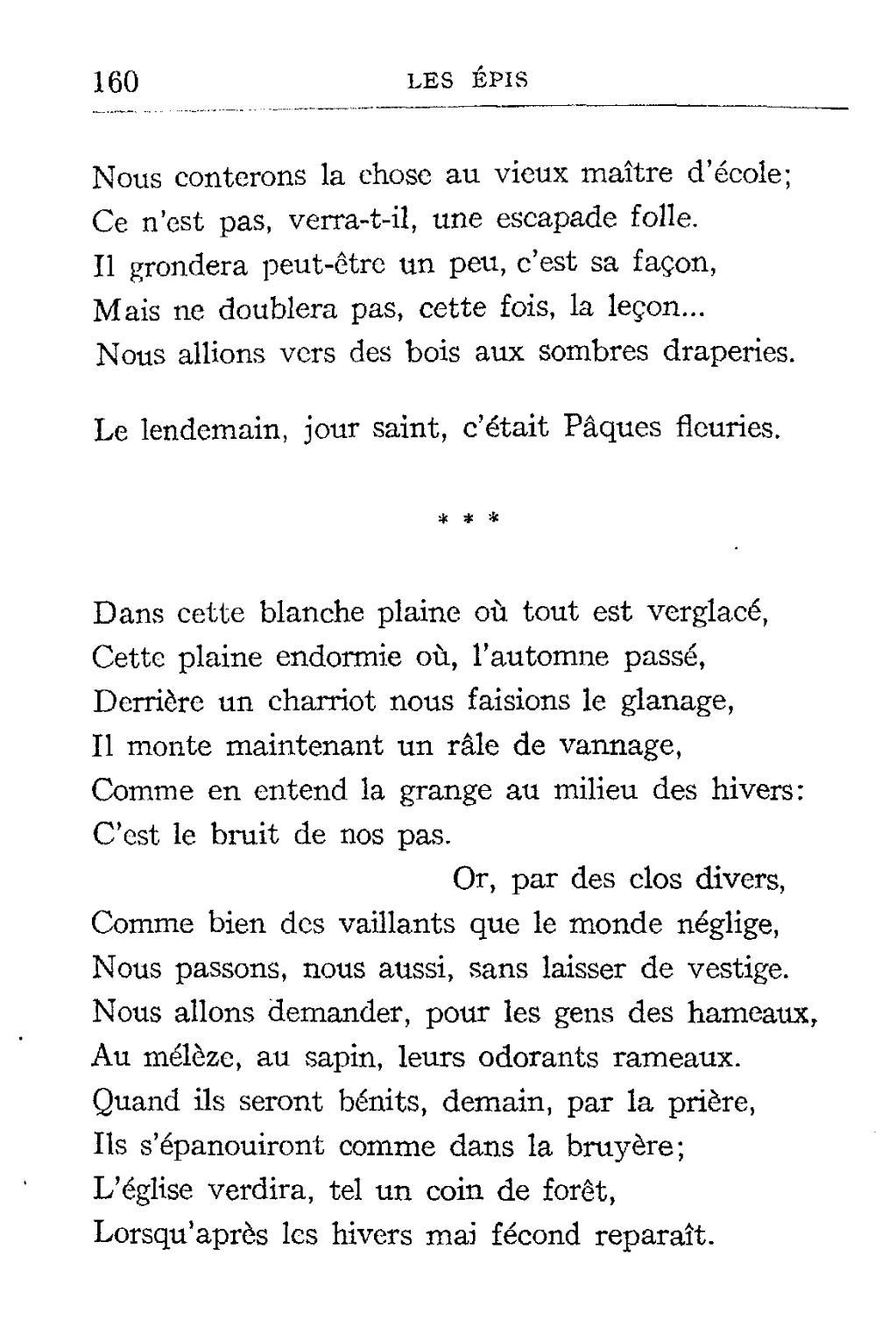 Pagelemay Les épis Poésie Fugitives Et Petits Poèmes