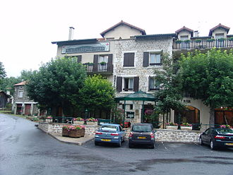 Alleyras - The Haut-Allier Hotel at Pont d'Alleyras