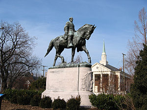 Removal of Confederate monuments and memorials - Image: Lee Park, Charlottesville, VA