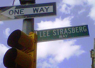 "Lee Strasberg - East 15th Street between Union Square East and Irving Place in Manhattan has been designated ""Lee Strasberg Way""."