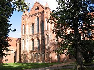 Lehnin Abbey - Abbey church, west front