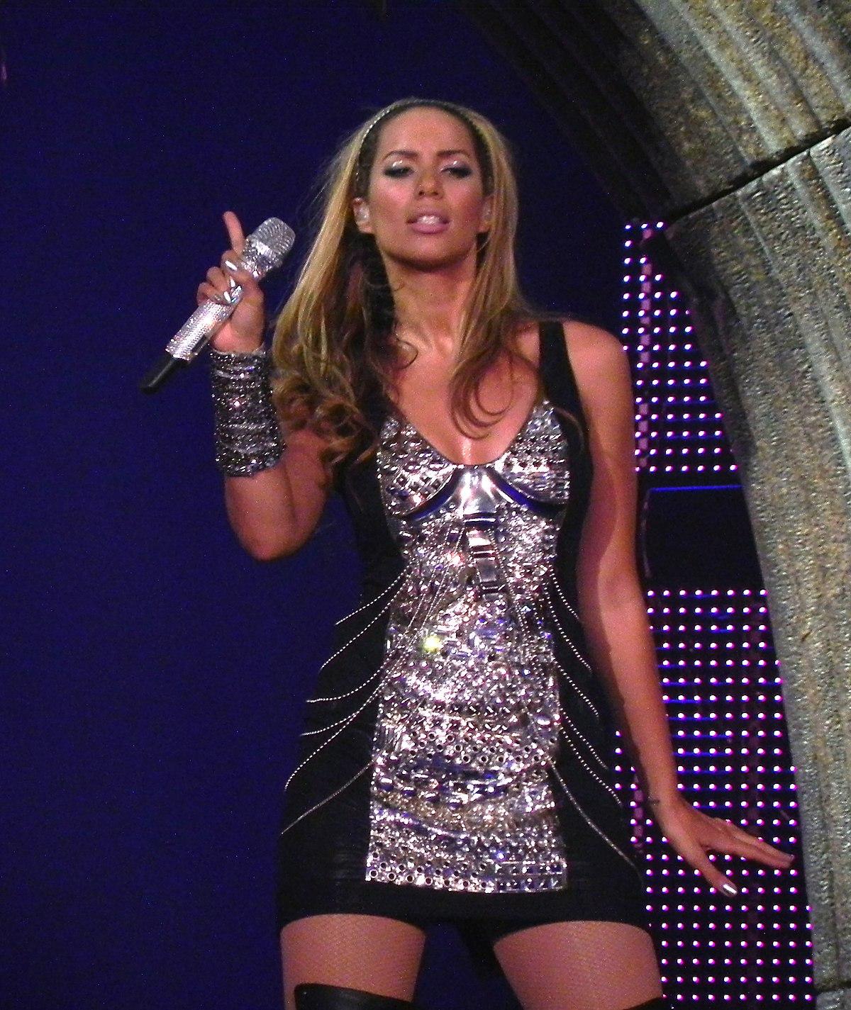 Leona Lewis I Am Tour Playlist