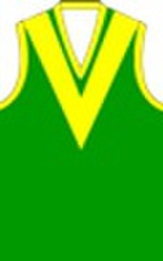 Heathcote District Football League - Image: Leongatha Football Club Jumper