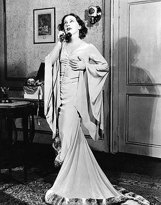 Eugenie Leontovich - Eugenie Leontovich as Grusinskaia, the dancer, in the original Broadway production of Grand Hotel (1930)