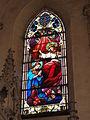 Les Paroches (Meuse) Église de l'Invention-de-Saint-Étienne vitrail 03.JPG