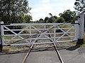 Level crossing gates at Worthing - geograph.org.uk - 1541863.jpg