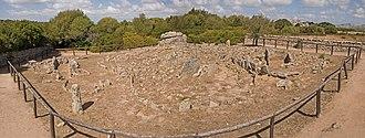 Pre-Nuragic Sardinia - Circular graves at Li Muri, Arzachena