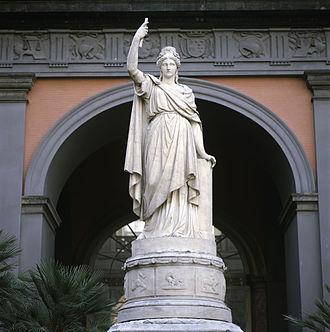 Italia turrita - Image: Liberti Italia 1861