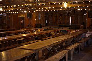 Luckenbach, Texas - The dance hall in Luckenbach