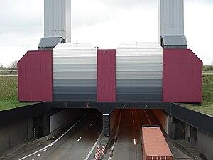 Liefkenshoektunnel - Tunnel entrance