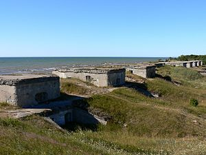 Western Russian fortresses - Libava Naval Fortress in Latvia
