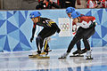 Lillehammer 2016 - Short track 1000m - Men Semifinals - Daeheon Hwang, Shaoang Liu, Kazuki Yoshinaga and Kyunghwan Hong 7.jpg