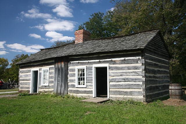 Deutsch Lincoln Log Cabin Lincoln Blockhaus State