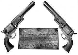 Lincolns-guns-gifted to abdelkader