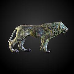 Passant lion
