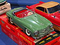 Litho tin toy green Mercedes 190SL, Schuco 2095 pic2.JPG
