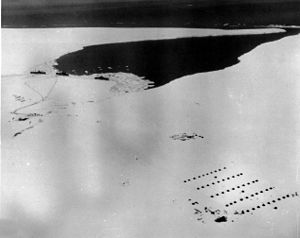 Little America IV camp was established as US Navy's Operation Highjump, 1946-1947