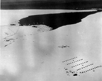 Little America (exploration base) - Little America IV camp was established as US Navy's Operation Highjump, 1946-1947