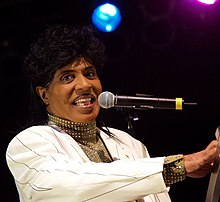 Little Richard performing in March 2007