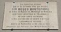 Livorno Moses Montefiore plaque 01.JPG