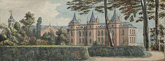 Salusbury family - Lleweni Hall c.1775