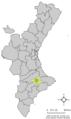 Localització de Benimarfull respecte el País Valencià.png