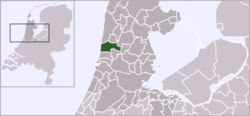 Location of Castricum.
