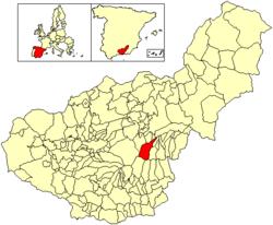 Situación de Jérez del Marquesado