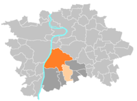 Location map municipal district Prague - Praha 4.PNG