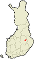 Location of Juankoski in Finland.png