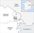 Locator map of Kanton Bavilliers 2019.png