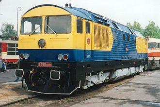 Czech rail records - Locomotive T 499.0002 (759.002)