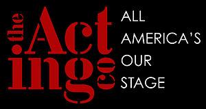 The Acting Company - Image: Logotag blackback redwhite