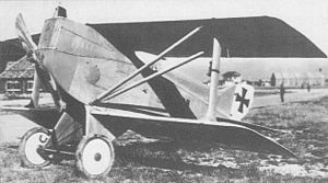 Lohner Type AA - The Lohner 10.20B showing its prominent dorsal fin.