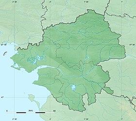 Voir sur la carte topographique de la Loire-Atlantique