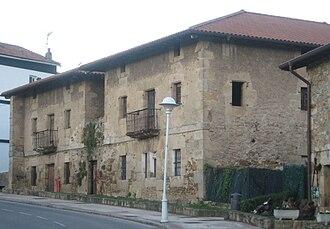 Loiu - Priests' houses in Zabaloetxe.