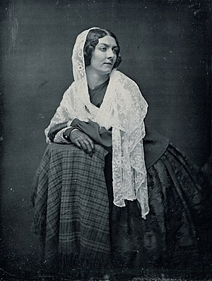 Melodeon (Boston, Massachusetts) - Lola Montez, by Southworth & Hawes, 1851