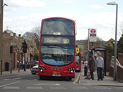 London bus at Debden - geograph.org.uk - 2910436.jpg