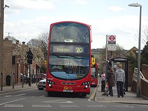 London bus at Debden - geograph.org.uk - 2910436.jpg