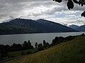 Looking out at Lake Thun (Thunersee) - panoramio.jpg