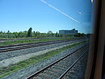 Looking out the left window on a trip from Union to Pearson, 2015 06 06 A (416) (18616187316).jpg