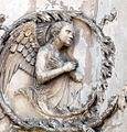 Lorenzo maitani e aiuti, scene bibliche 3 (1320-30) 06 angelo 2.jpg