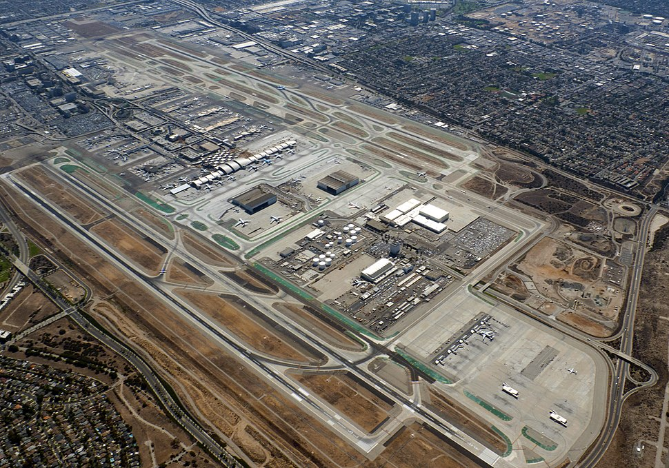 Los Angeles International Airport Aerial Photo