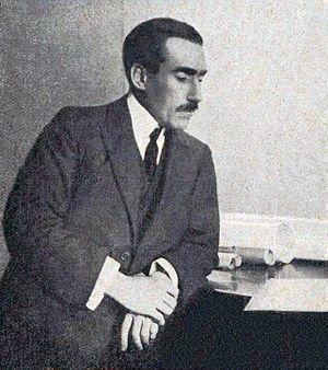 Louis Renault (industrialist) - Image: Louis Renault en 1918