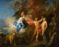Louis de Silvestre - The Formation of Man by Prometheus with the Aid of Minerva, 1702.jpg